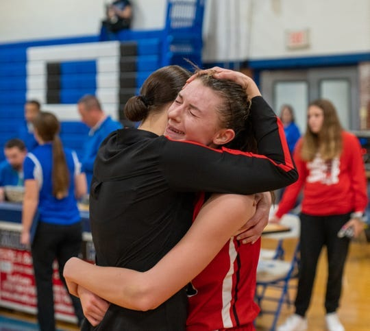 Derevjanik has created a strong culture of peer support in the Bound Brook High girls basketball program. Alexander Lewis / MyCentralJersey / USA TODAY Sports Network